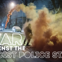 Poster series: war against the racist police state
