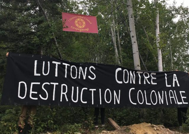 Vigil and Day of Action: Wednesday the 28th of February 2018, in Solidarity With Freddy Stoneypoint, Mi'kmaq Sovereignty, and the Struggle Against Fossil Fuels