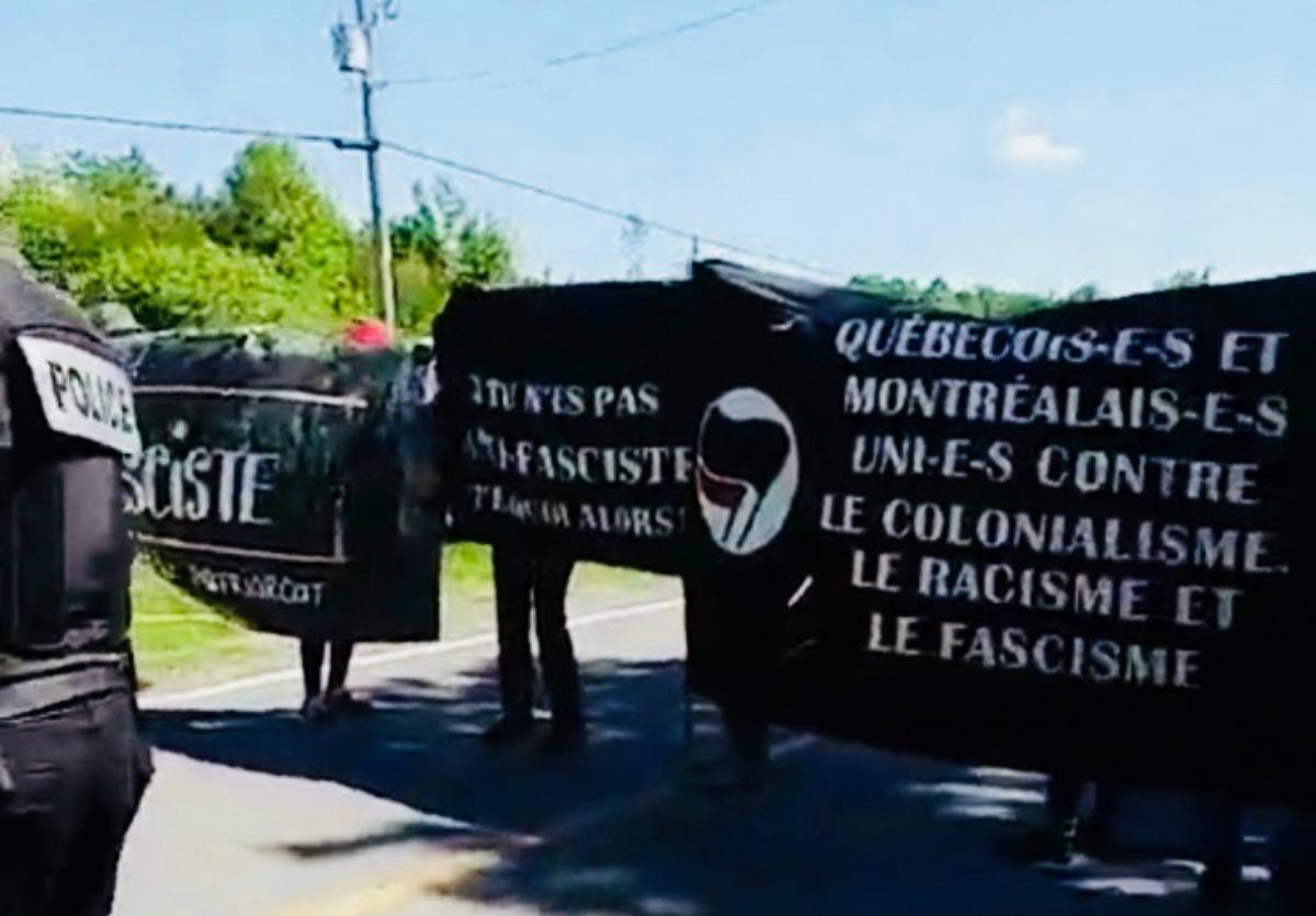 Antifascist Action at the Quebec/US Border