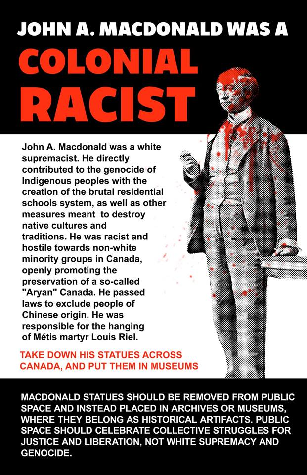 John A. Macdonald Monument Vandalized (Again) in Montreal