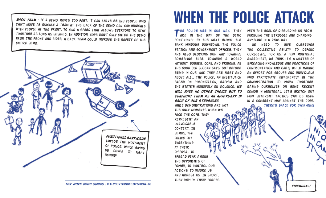 Flyer: When the Police Attack