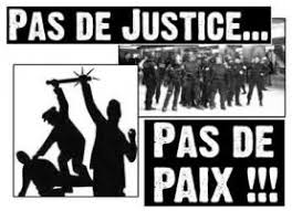 Call for submissions of texts and activities: NO JUSTICE? NO PEACE!