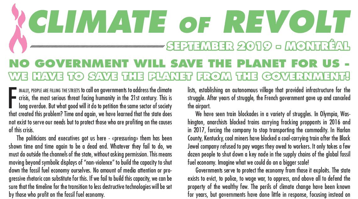 Climate of Revolt