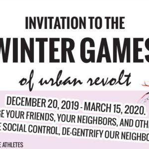 Invitation to the Winter Games of Urban Revolt