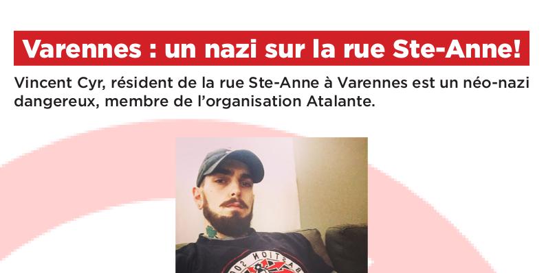Varennes: An Atalante Nazi on Rue Sainte-Anne