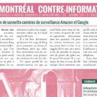 Montreal Counter-Info #9 (Summer-Fall 2019)