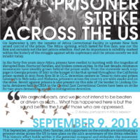 September 9th Prisoner Strike across the US