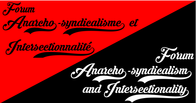 CANCELLED: Anarcho-syndicalism and Intersectionality Forum