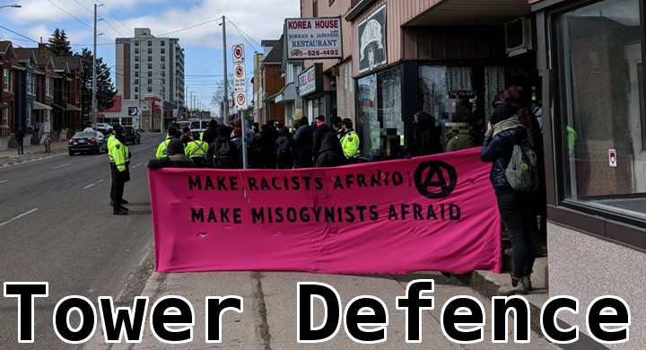 Tower Defence: Holding Space Against the Far-right