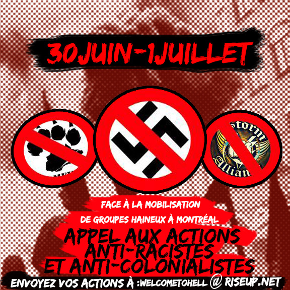 Welcome to Hell: Call to Action June 30 and July 1