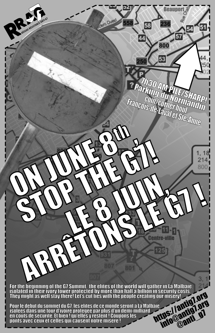 On June 8th, stop the G7!