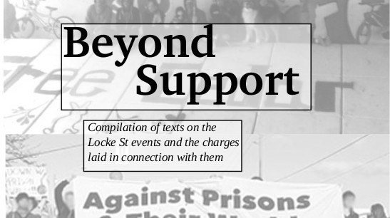 Beyond Support: Update on Locke St Defendants and a Proposal for Beginning to Organize Solidarity