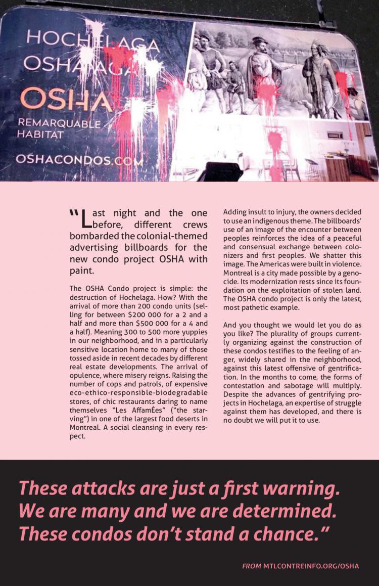 OSHA Condos: New Communiqué Poster