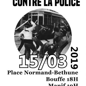 March 15th Against the Police