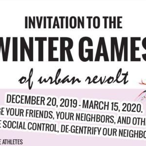 Invitation to the Winter Games of Urban Revolt