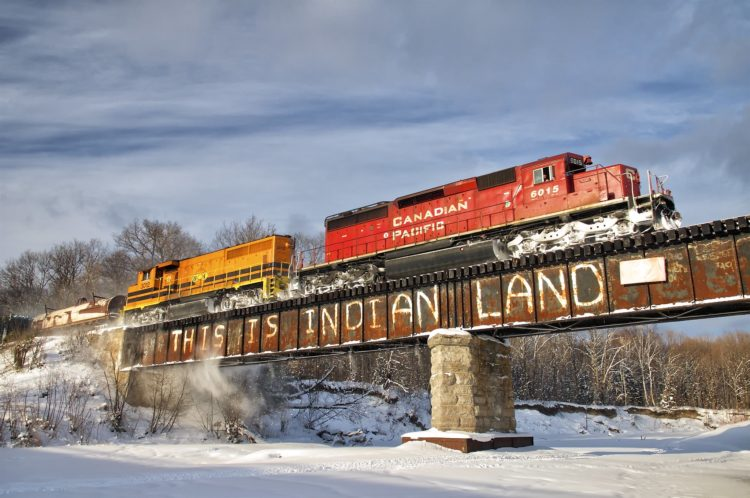 """From Sea to Sea"": Train Blockades, Colonialism and Canadian Rail History"