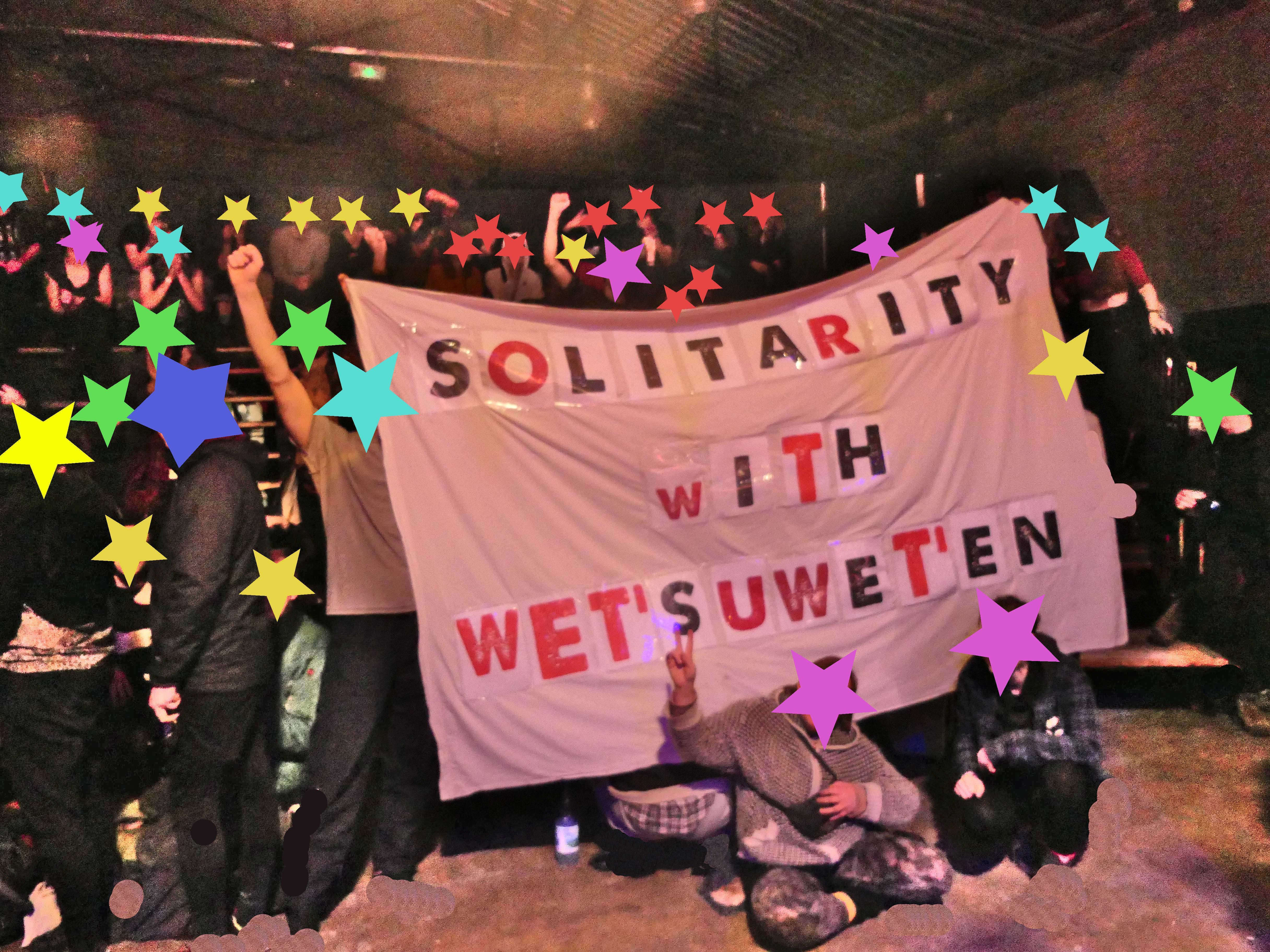 Solidarity with the Wet'suwet'en from France