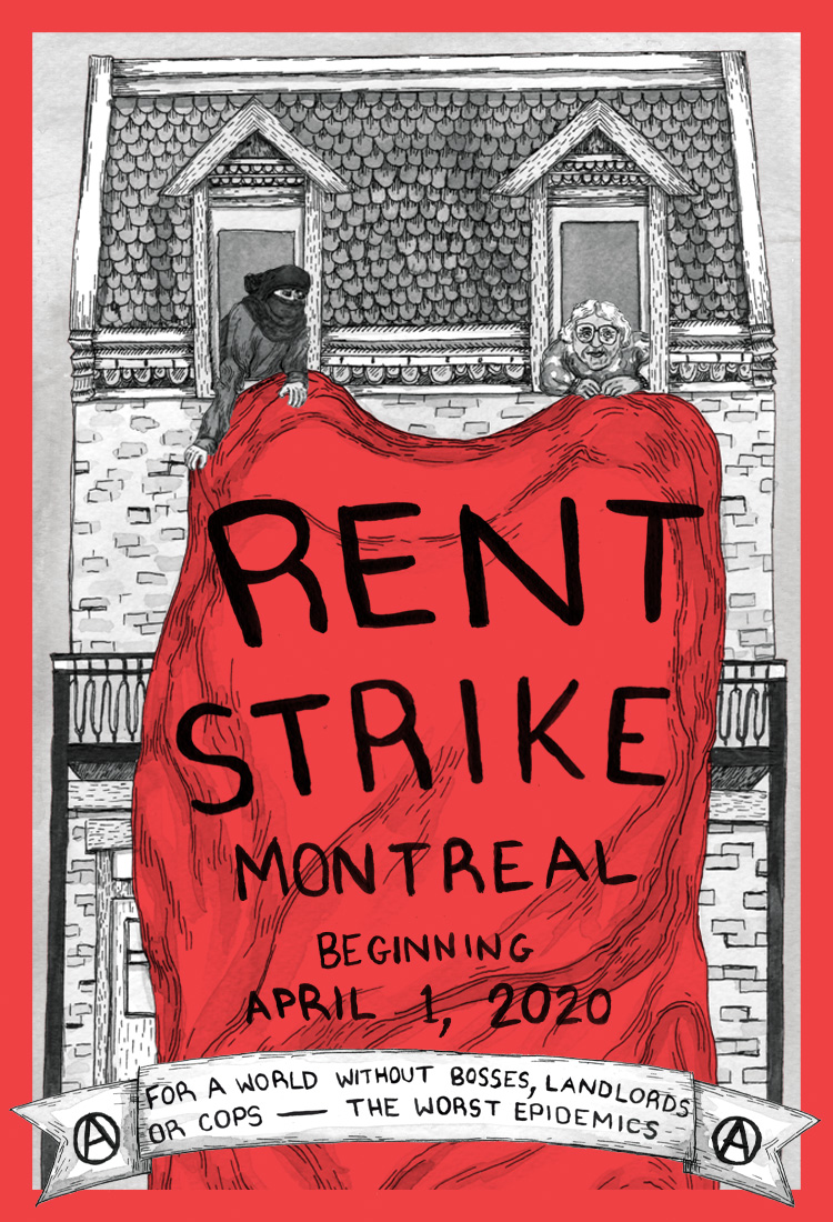Montreal Rent Strike - Beginning April 1, 2020