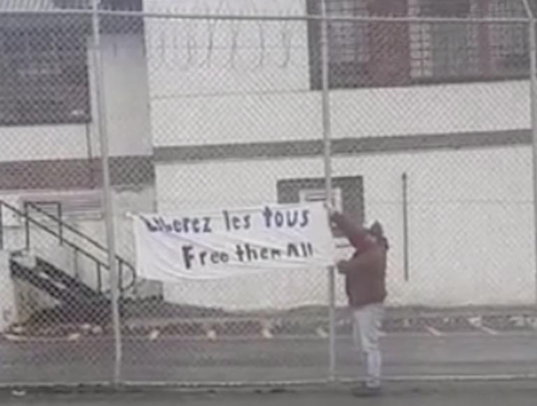 April 19 #FreeThemAllCaravan Reportback