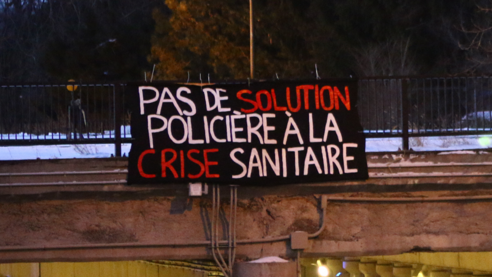 No Police-Based Solution to the Health Crisis!