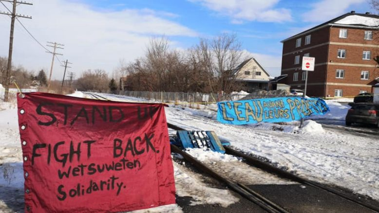 Charges Dropped Against Lennoxville Rail Blockade Defendants