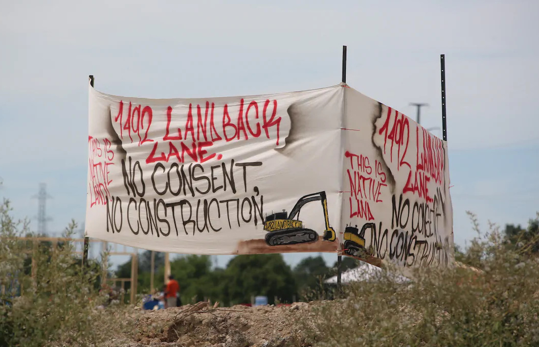 1492 Land Back Lane Forces Cancellation of McKenzie Meadows Development