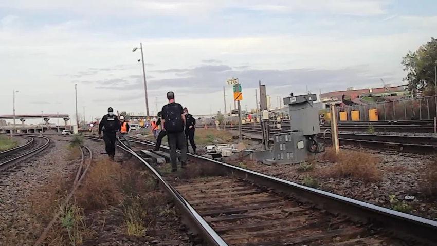 Video: October 9 Train Blockade in Solidarity with Gidimt'en